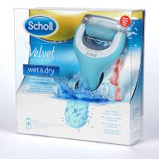 Scholl Velvet Smooth Wet & Dry Roll Ricaricabile Per Pedicure
